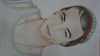 Drawing Maluma (speed) - Dibujando a Maluma - Retrato de Maluma