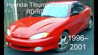 The Evolution of The Hyundai Coupe/Tiburon