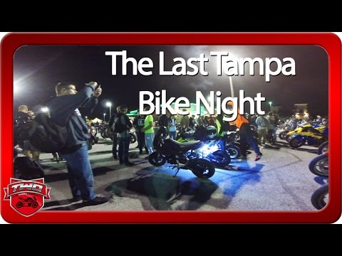 Last Tampa Bike Night Of 2016 Quaker Steak & Lube