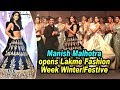 Manish Malhotra opens Lakme Fashion Week Winter/Festive