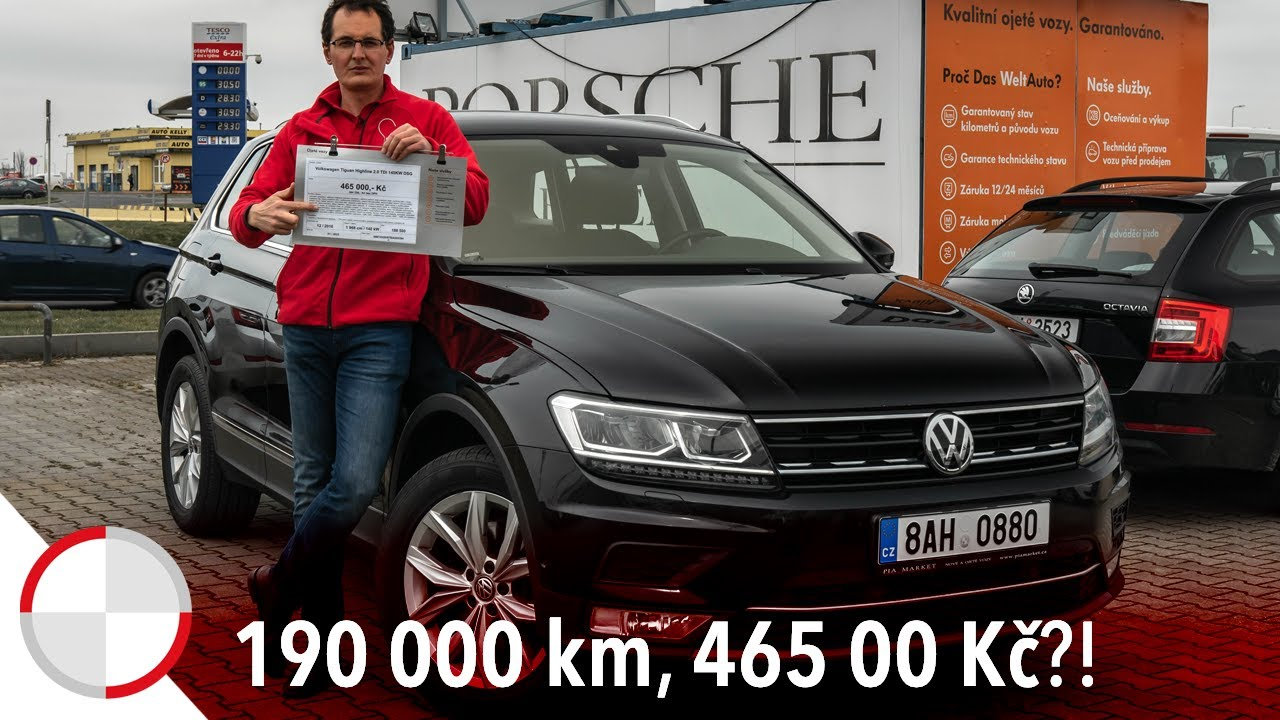 Martin Vaculík a ojetý VW Tiguan se 190.000 km: Co všechno si před koupí pohlídat?