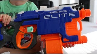 Nerf Hyperfire Elite Review | Is it good for kids?