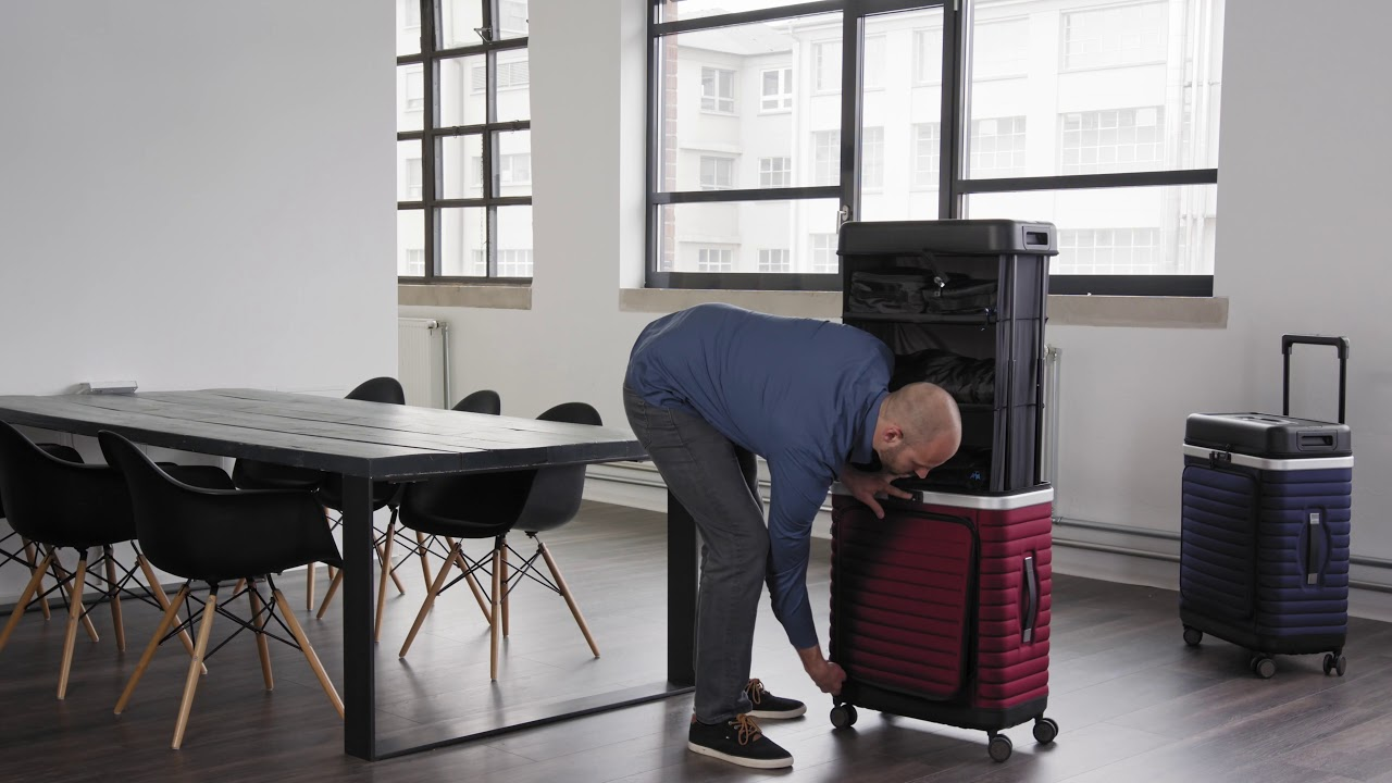 How To pack the Pull Up Suitcase - without video editing
