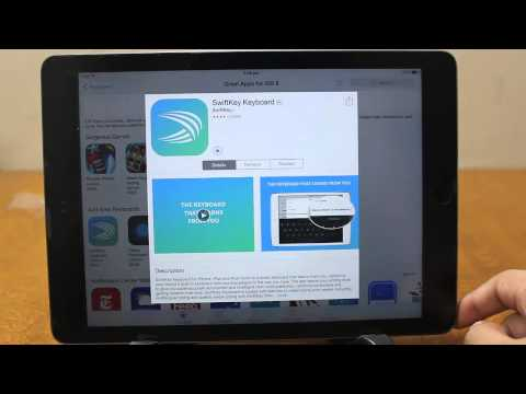 How To Install Third Party Keyboard Swiftkey Fleksy Swype Touchpal On Ios Iphone Ipad Ip
