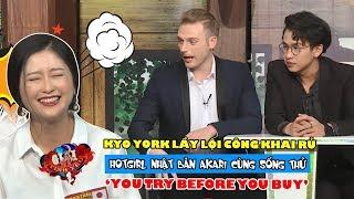 Kyo York lầy lội công khai rủ hotgirl Nhật Bản Akari cùng sống thử | You try before you buy 😍