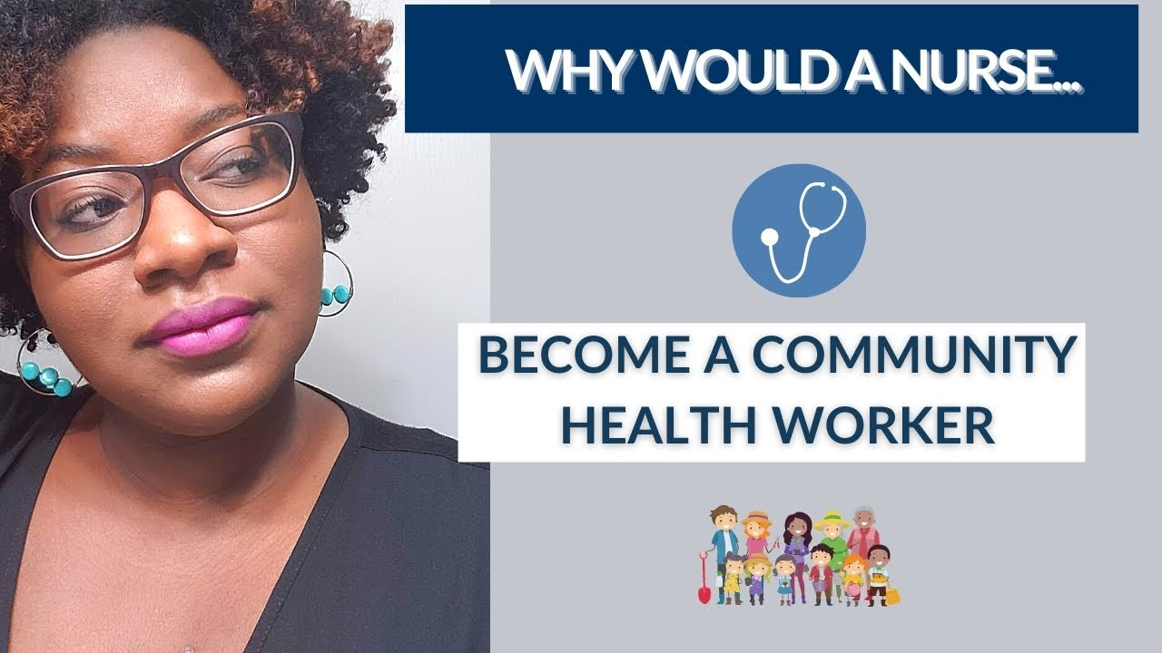 "#AskQuisha Vlog Series ""Why would a NURSE become a Community Health Worker?..."""