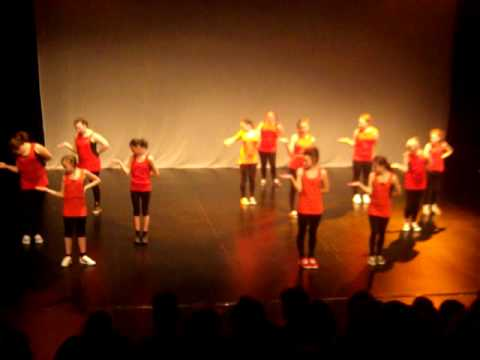 Denton Community College - Junior Street Dance - On The Floor - Dance Show 2012.MOV