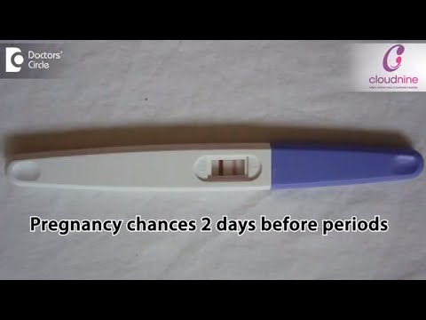 Can you get pregnant 2 days before period? - Dr. Manjari Kulkarani