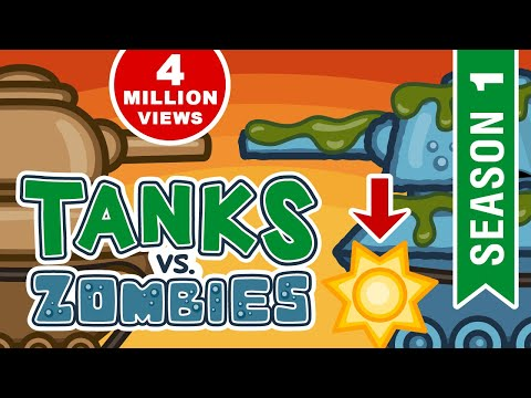 All episodes of Season 1 about Zombie Virus. Apocalypse World. Cartoons about Tanks