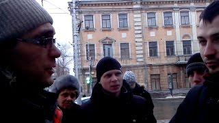14.12.2014г. Самарский НОД блокирует подельников Навального.