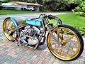 Custom Motorcycle Board Track Racer Bobber Chopper Vintage Daytona bike week @chucksee