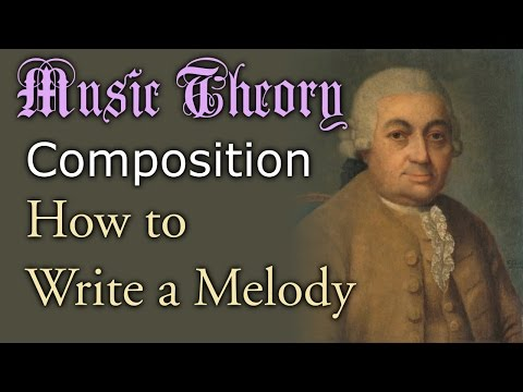 How to Write a Melody (Music Theory/Composition)