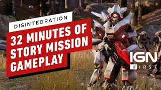 Disintegration: 32 Minutes of Story Mission Gameplay – IGN First