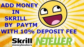 How To Deposit Money By PAYTM To Skrill Or Neteller From India In Hindi