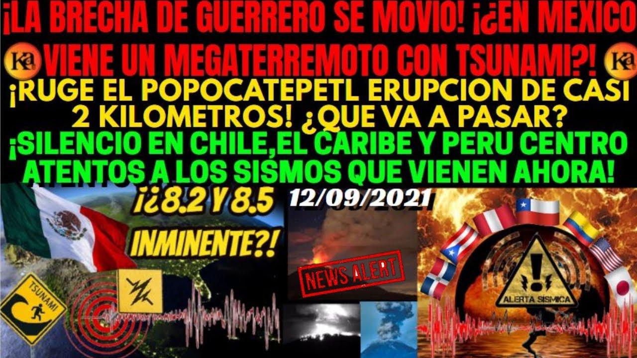 ¡ES URGENTE! ¡¿VIENE LO PEOR MEGATERREMOTO Y TSUNAMI EN MEXICO!? ¡ALERTA SISMICA CHILE,PERU Y CARIBE