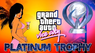 Grand Theft Auto Vice City [PS4] Platinum Trophy (One is Better Than Two)