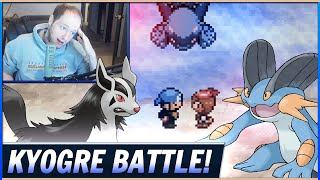The Battle for Kyogre! (Pokemon Sapphire Speedrun World Record Attempts!)