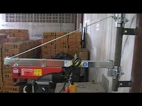 แกนเหล็กหมุนแขวนรอก เบิร์ก ใช้งาน สะดวก ติดตั้งง่าย ปลอดภัย ใช้คู่กับรอกสลิงไฟฟ้า