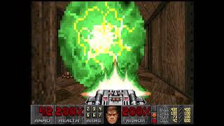 Doom (1993) 100% Ultra-Violence E4M8: Unto the Cruel