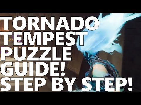 Darksiders III 27 Scar Refinery! Tornado Tempest Puzzle Guide!