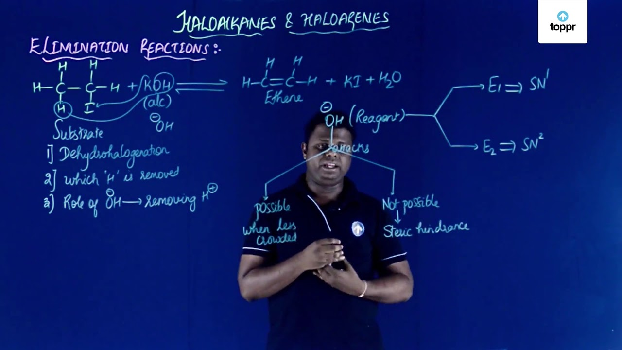 Stereochemistry and Chemical Reactions of Haloalkanes