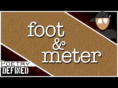 Foot & Meter #PoetryDefined