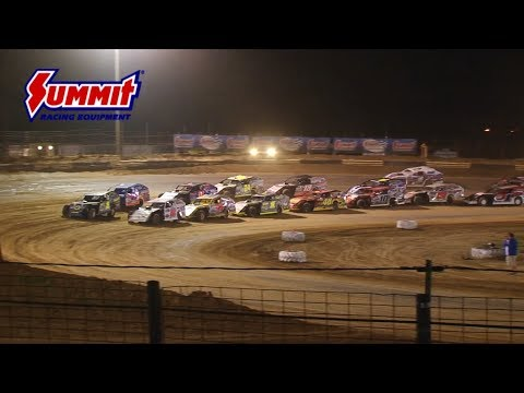 Summit Racing Equipment Modified Nationals Fayette County Speedway July 4, 2017 | HIGHLIGHTS