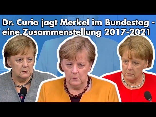 Sämtliche Fragen an Merkel bei den Regierungsbefragungen der 19. Legislaturperiode