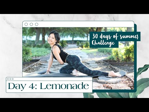 Day 4: Refreshing Full Body | Knee & Wrist Friendly Home Workout | 30 Days Summer Pilates Challenge
