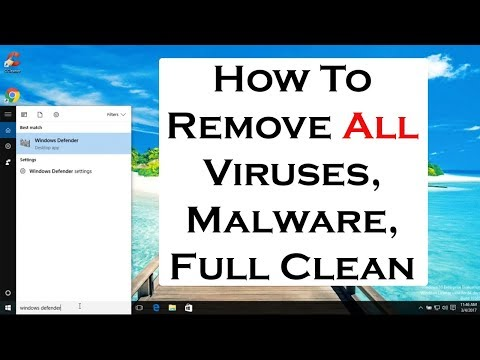 How to remove computer virus, malware, spyware, full computer clean and maintenance 2017