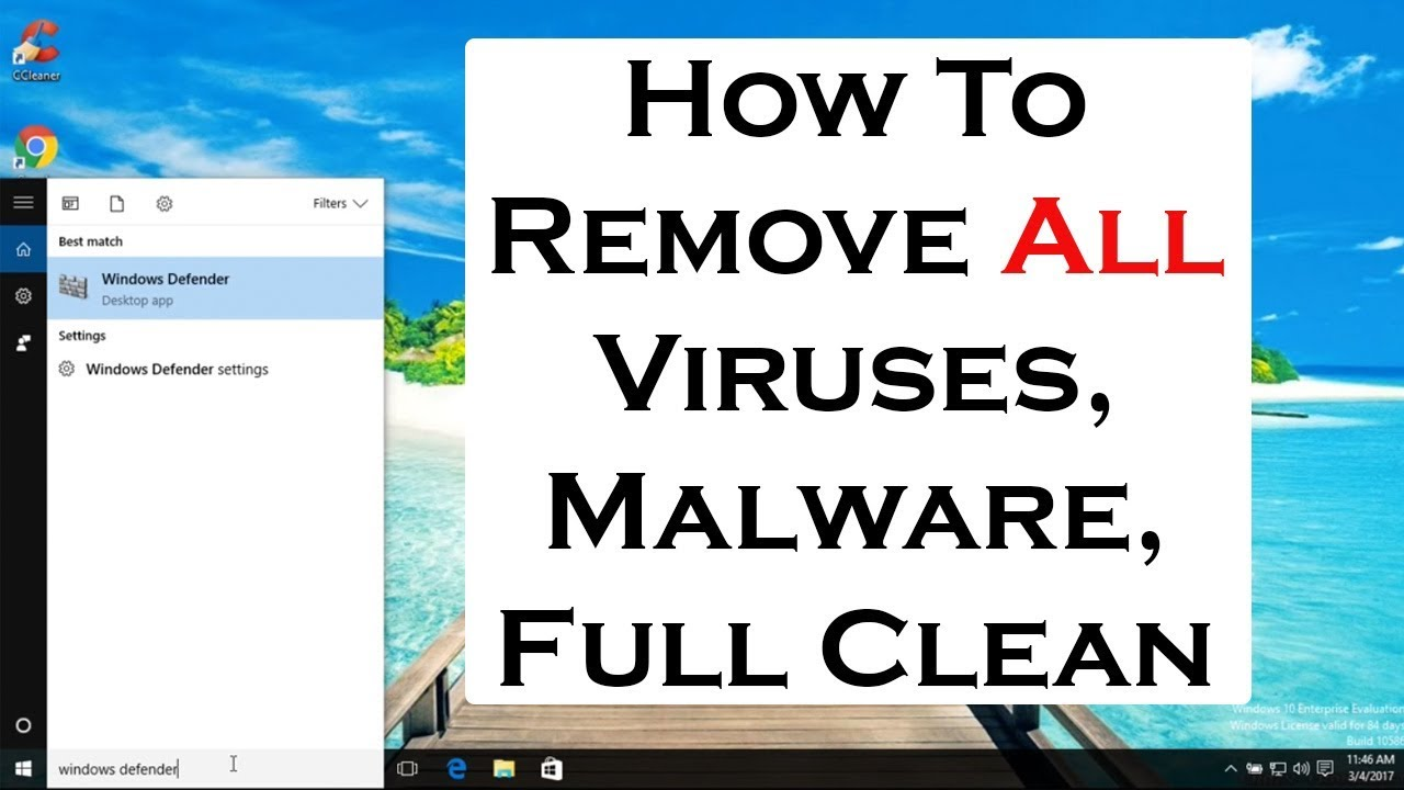 How to remove computer virus, malware, spyware, full computer clean and maintenance 2017 | kenhtv