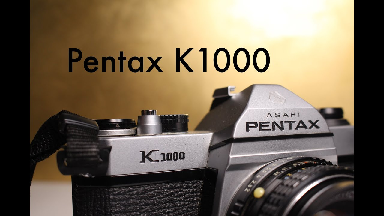 pentax k1000 video manual and review youtube rh youtube com Asahi Pentax K1000 135Mm asahi pentax k1000 manual español
