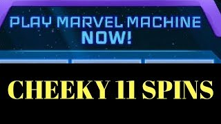 YOLO 11 SPINS~ JAN 2018 Marvel Machine | Axgunner | Maplestory