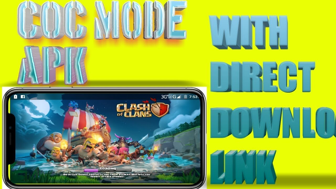 How to download clash of clans mod apk unlimited all easy