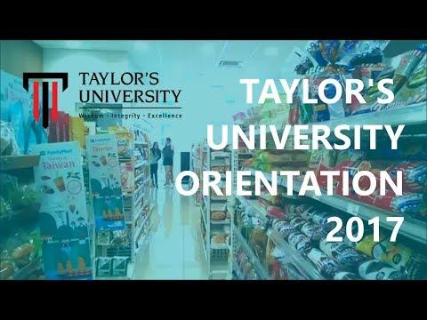 Taylor's University Orientation 2017 Edit