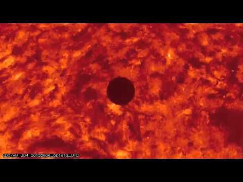 Fun Quick Transit of Venus. Establishes the measurement for the Astronomical Unit