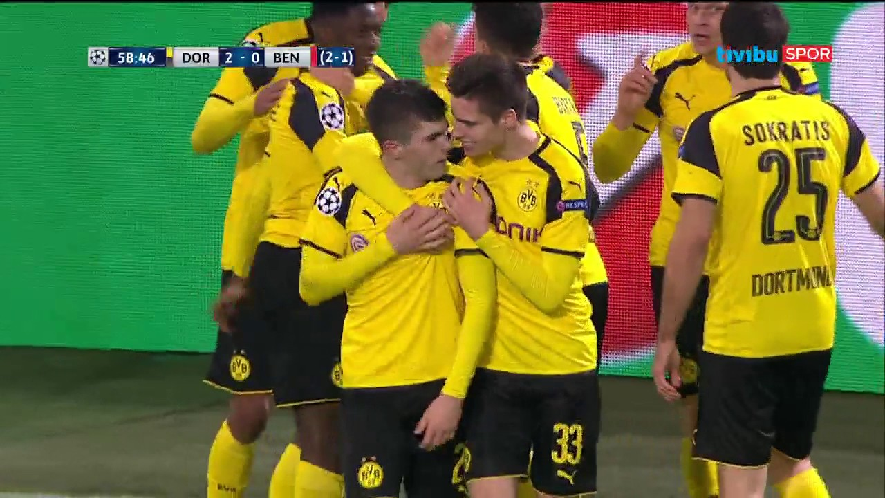 Borussia Dortmund Benfica