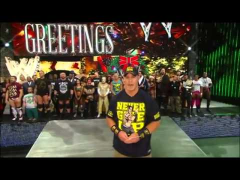 The WWE Superstars sing !