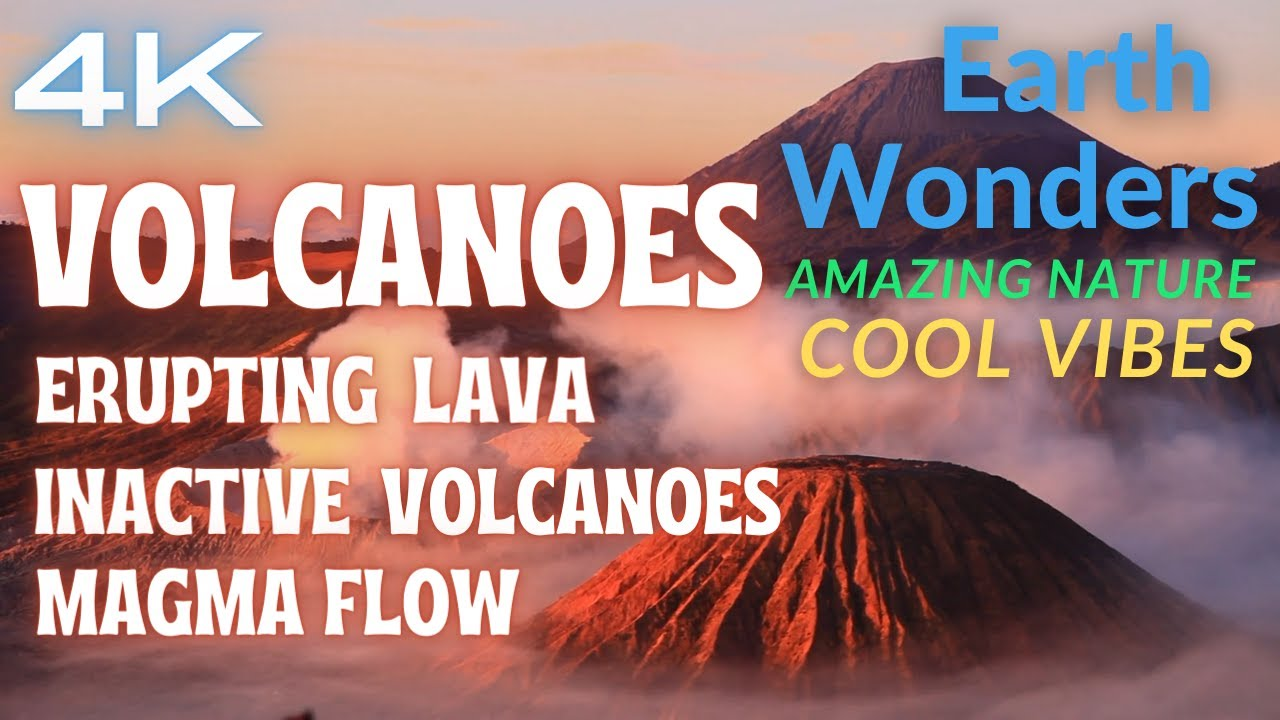 Download VOLCANOES PARADISE 🌋 4k Nature Zen Music Ambiental Sounds Relaxing Songs Chillout Music