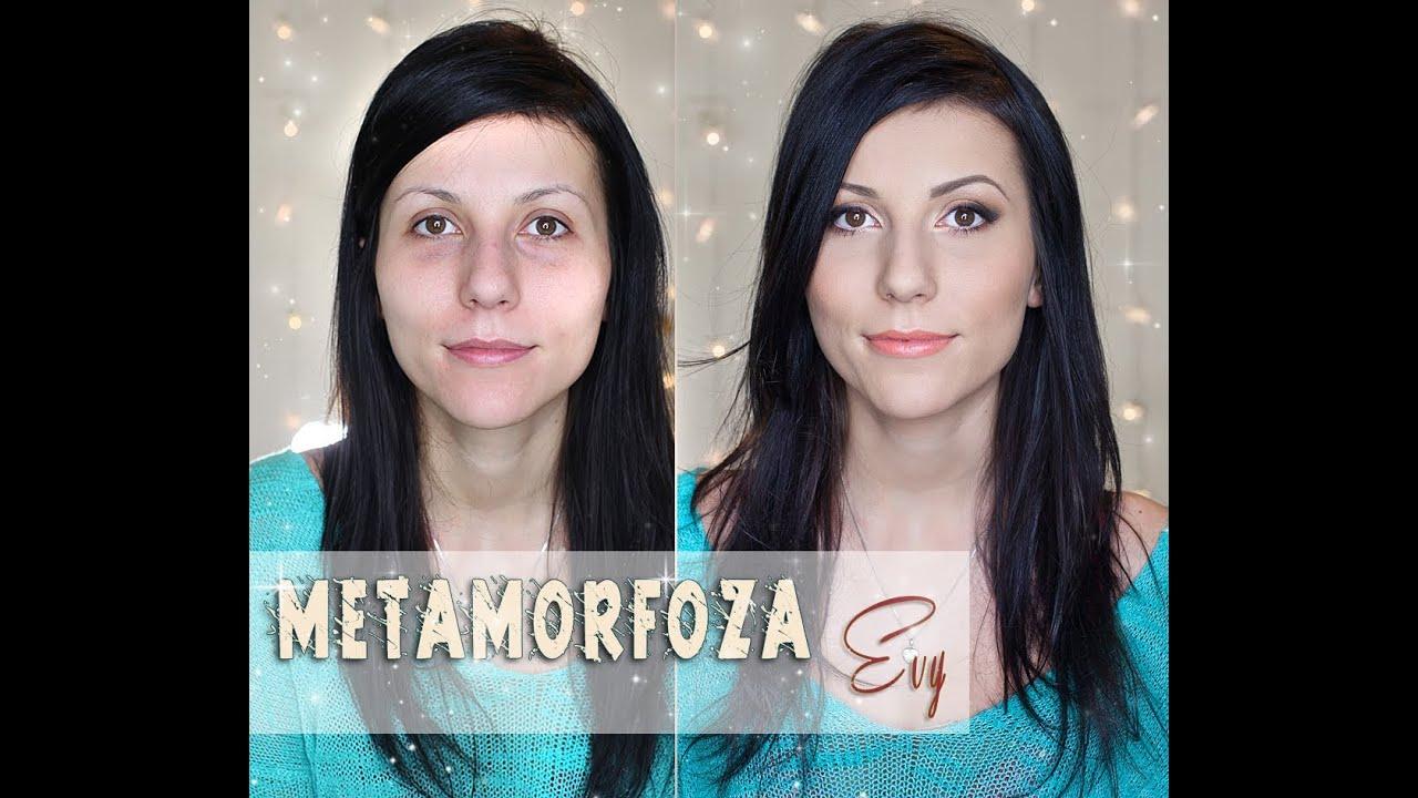 Metamorfoza Evy Makijaż Dla Głęboko Osadzonych Okrągłych Oczu