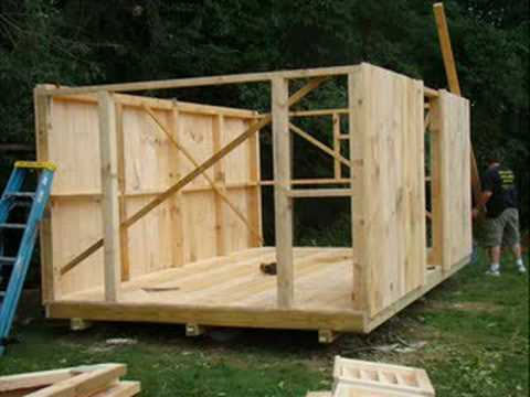 Building A Shed In Under 2 Min Youtube