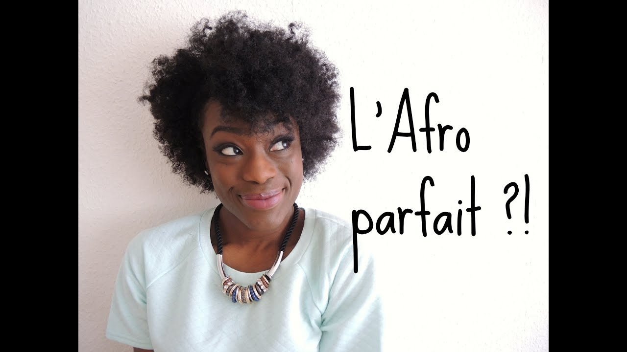 Tuto-Astuce coiffure - L'Afro parfait - YouTube