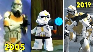 Order 66 Scene in Star Wars Games 2005-2019