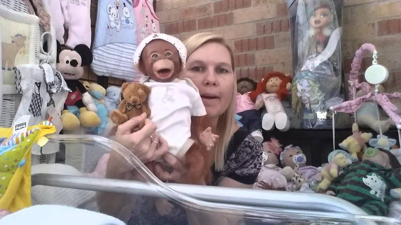 Orangutan Monkey Twins Reborn Monkey Baby Dolls Youtube