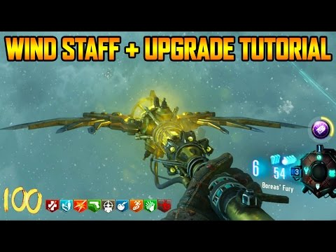 ORIGINS REMASTERED - WIND STAFF BUILD + UPGRADE TUTORIAL GUIDE (Black Ops 3 Zombie Chronicles)