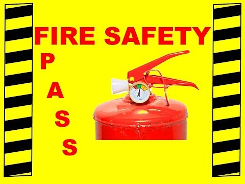 Fire Extinguisher Training - PASS - Fire Safety Training Vid