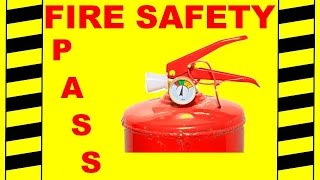 Fire Extinguisher Training - PASS - Fire Safety Training Video