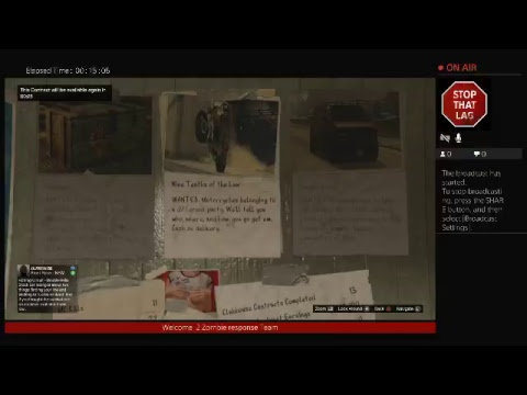 LIVESTREAM Devils o hell LOS Santos BIKER GANG W /Zombie Response Team