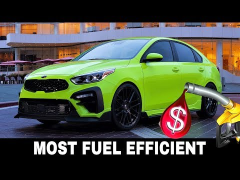 Top 9 Cars With The Highest Fuel Economy Rating In 2019 (Besides Hybrids)