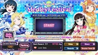 'Let's Survive The Medley Mission!' Livestream (Love Live School Idol Festval)